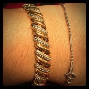 Jewelry - Gold plated over silver bracelet